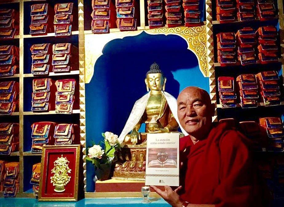 """Anoteu aquesta data – 16 de maig – perquè es farà la presentació del  llibre """"La atención como estado interior"""" a la Casa del Tibet de Barcelona"""