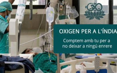 Campanya d'oxigen per a l'Índia