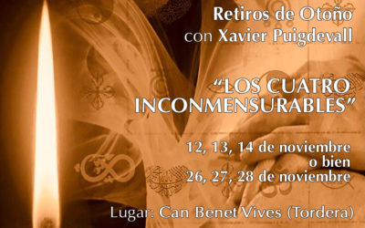 Retiros de Otoño con Xavier Puigdevall